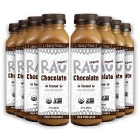 Organic Superfood Drinking Chocolate (RAU COCONUT) - Gluten Free, Paleo Friendly, No Preservatives, 12 Ounce (Pack of 8)