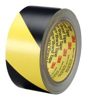 3M Safety Stripe Tape 5702, Black/Yellow, 1 in x 36 yd, 5.4 mil