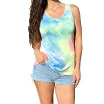 Yasalala Women's Tank Tops Cute Soft Sleeveless Yoga Workout Loose Fit T Shirt