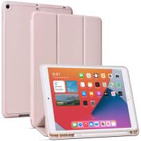 Arae for iPad 10.2 inch Case (7th Generation 2019) & (8th Generation 2020) Auto Wake/Sleep Feature Standing Cover, Rosegold