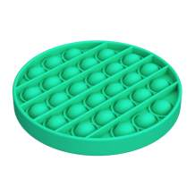 Noii Push Pop it Fidget Toys.Premium Soft Silicone Push Pop Bubble Fidget Sensory Toys for Adults,Special Needs Anxiety Stress Reliever.Squeeze Sensory Toy for Kids Friends Family Home Travel-Green.