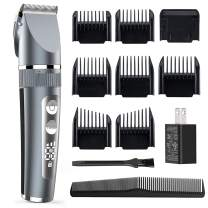 Forusi Hair Clippers for Men - Cordless Ceramic Blade Mens Hair Trimmer Beard Trimmer Hair Cutting & Grooming Kit Rechargeable