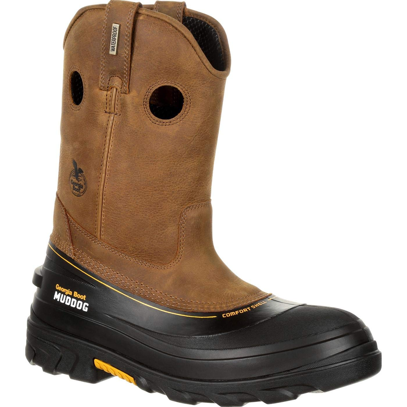 Georgia Boot Muddog Composite Toe Waterproof Work Wellington