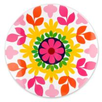 "French Bull 15"" Lazy Susan - Melamine Dinnerware - Platter, Turntable, Serving, Party - Sus"