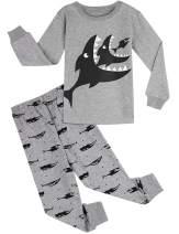 A&J DESIGN Kids Boys Pajamas Set 100% Cotton Sleepwear
