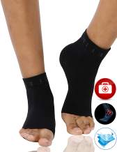 BUBBLELIME Ankle Brace for Women&Men Compression Arch Support Foot Sleeve Plantar Fascilitis Socks for Pain Relief Injury Recovery