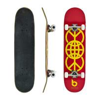 Bamboo Skateboards Complete Skateboard - More Pop, Lighter, Stronger, Lasts Longer Than Most Decks - Includes Deck, Trucks, Wheels, Hardware, ABEC 7 Bearings, Grip Tape, and Bonus Y Tool