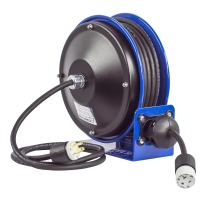 Coxreels PC10-3016-A Compact efficient Heavy Duty Power Cord Reel with a Single Industrial Receptacle