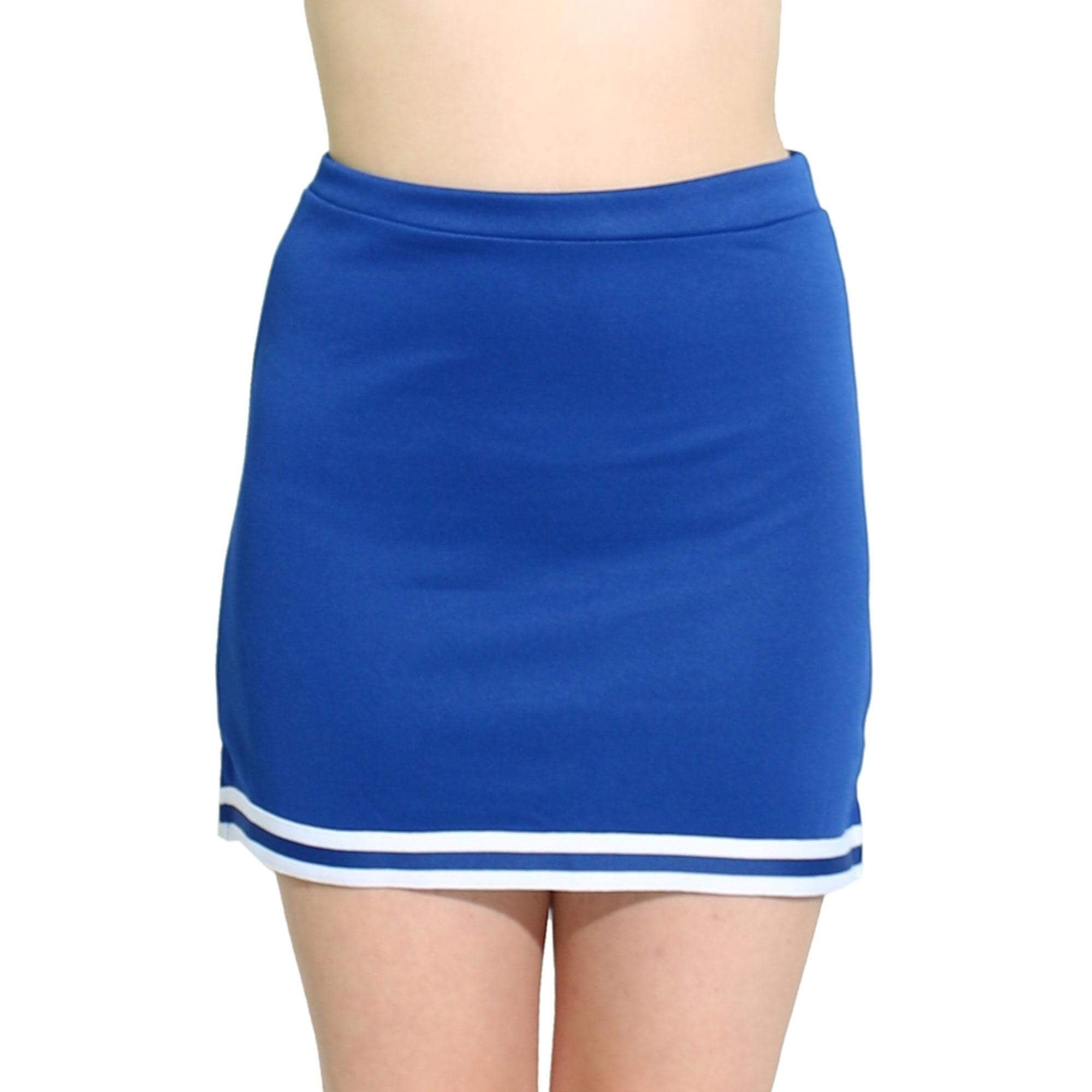 Danzcue Womens A-Line Cheerleaders Uniform Skirt