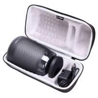 LTGEM EVA Hard Case for Harman Kardon Allure Portable Portable Alexa Voice Activated Speaker - Travel Protective Carrying Storage Bag