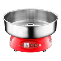 Clevr Compact Commercial Cotton Candy Machine Party Candy Floss Maker Red