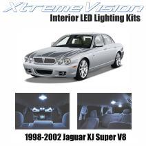 Xtremevision Interior LED for Jaguar XJ Super V8 1998-2002 (18 Pieces) Cool White Interior LED Kit + Installation Tool