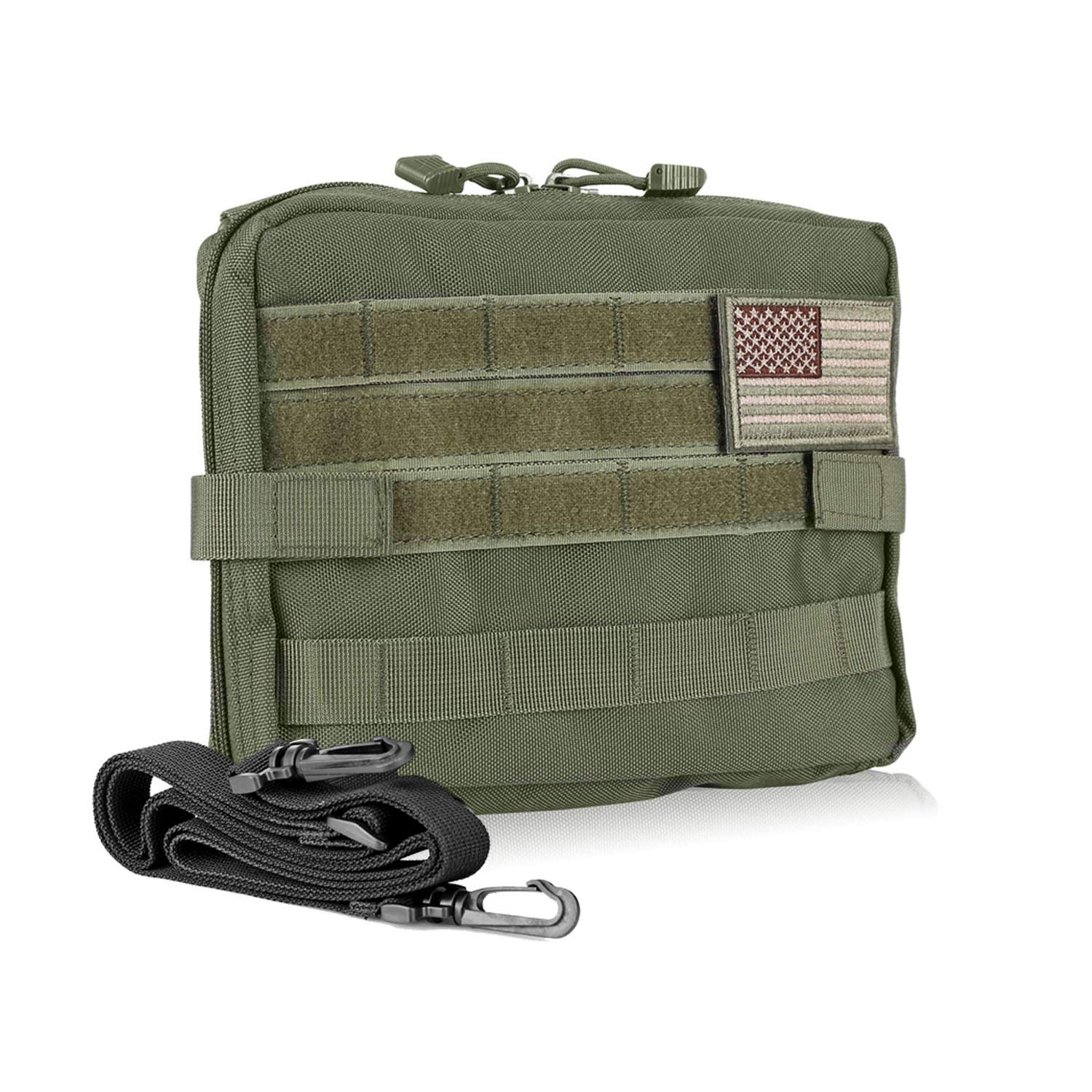 DELSWIN Tactical Molle Pouch - 1000D Nylon EDC Modular Utility Pouch Military Tool Holder