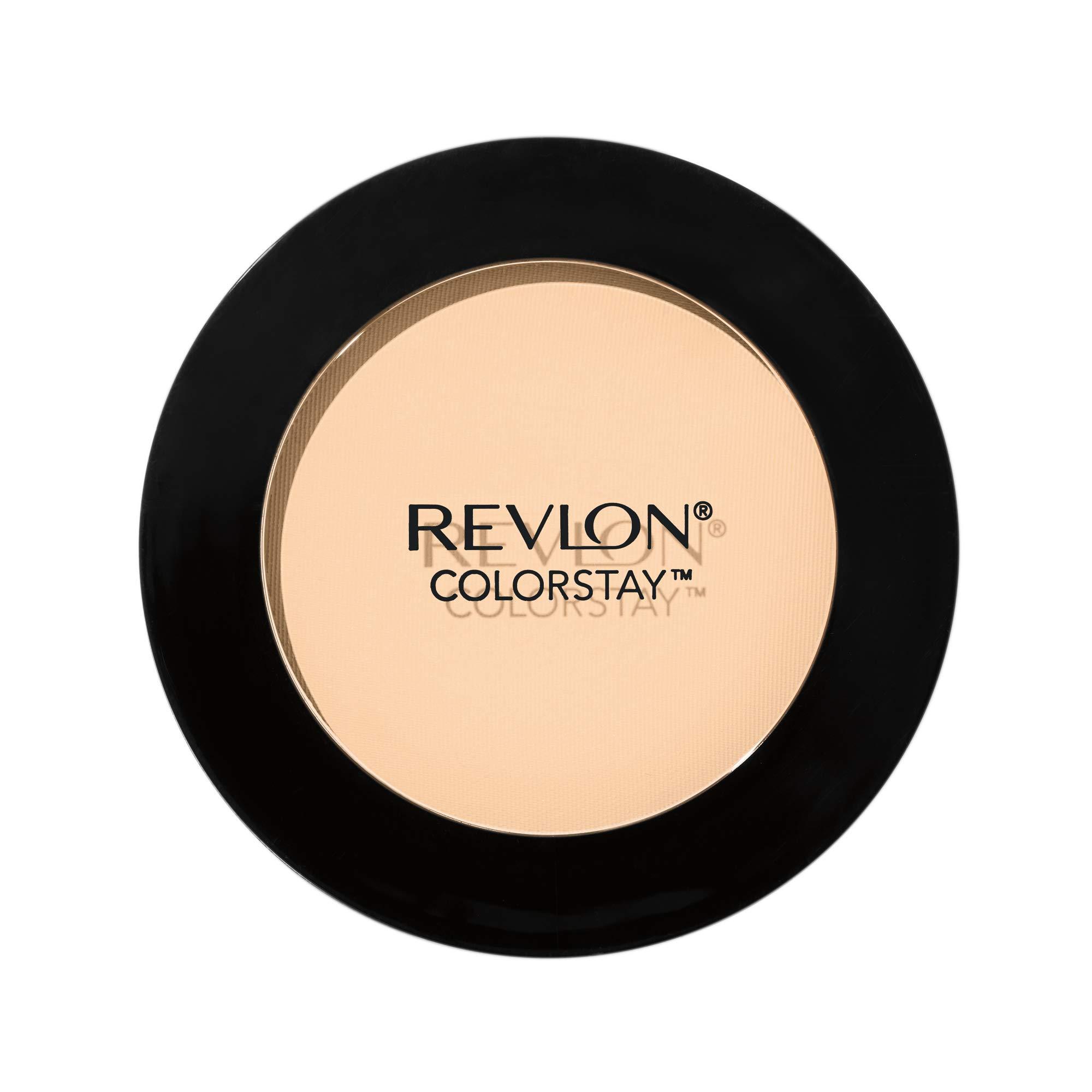 Revlon ColorStay Pressed Powder, Longwearing Oil Free, Fragrance Free, Noncomedogenic, 330 Natural Tan, 0.30 oz