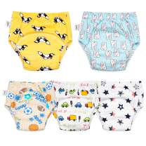 Max Shape Baby Grils Underwear,Toddler Girls Potty Training Pants 5 Pack