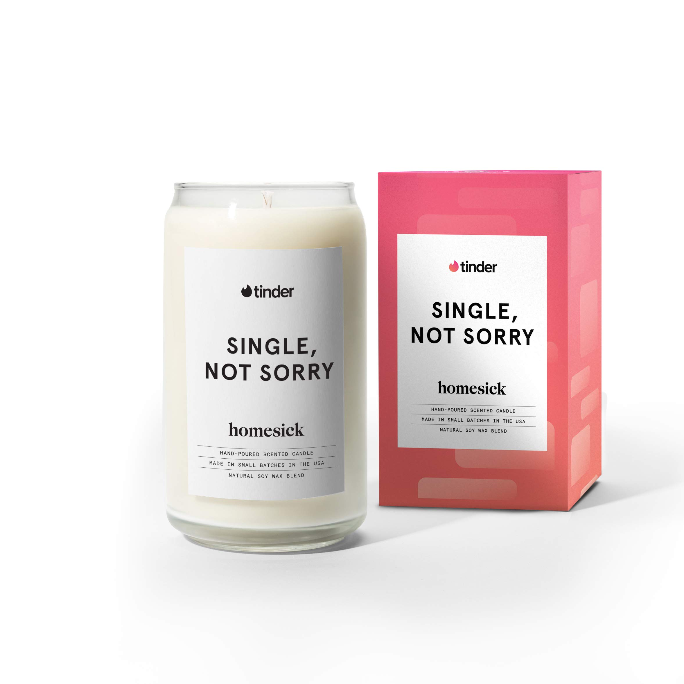 Homesick Scented Candle, Tinder