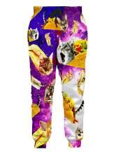 Loveternal Men Women Funny 3D Print Graphric Cool Joggers Casual Pants Sports Sweatpants