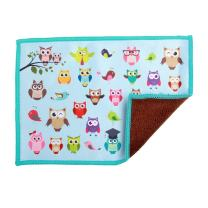 Smartie Microfiber Cleaning Cloth for Touch Screens (Owl Decor)
