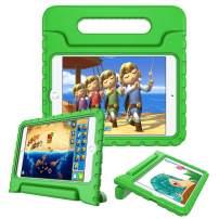 Fintie Case for iPad Mini 5th Gen 2019 / iPad Mini 4 - Kiddie Series Light Weight Shock Proof Kids Friendly Convertible Handle Stand Cover for New iPad Mini 5 / iPad Mini 4, Green