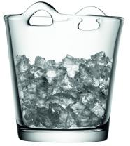 "LSA International Bar Ice Bucket, 7.5"", Clear"