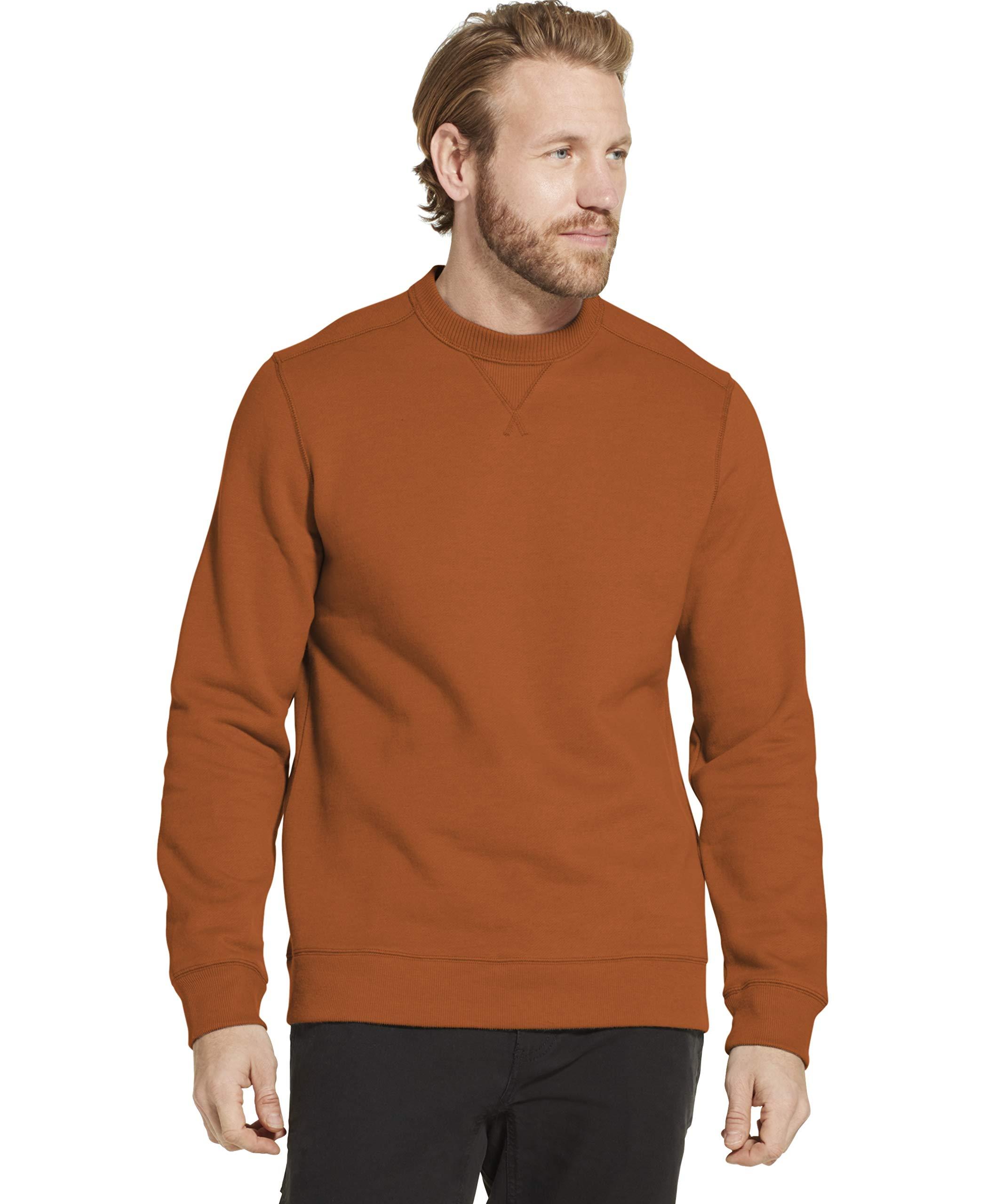 Dam Good Supply Co Performance Workwear Men's Durable Crewneck Fleece Sweatshirt (Regular Sizes)