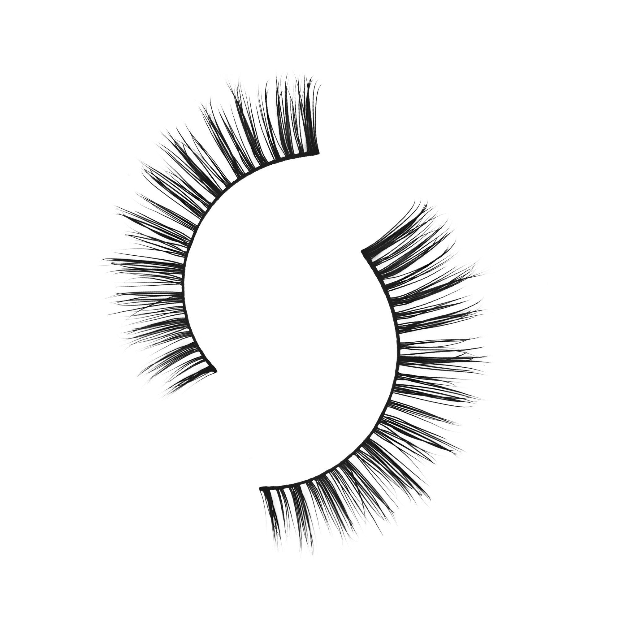 Velour Mink Lashes - Are Those Real False Eyelashes – Handcrafted & Cruelty Free - Lightweight Cotton Lash Band - Lasts Average 25 Uses - Natural Volume Fake Eyelashes - Suitable for All Eye Shapes
