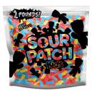 SOUR PATCH KIDS Birthday Mix Soft & Chewy Candy, Just Blue, Red, & Yellow (2 LB Party Size Bag)