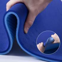 TENOL JELS Extra Thick Yoga and Exercise Mat Non-Slip High Resilience TPE Pilates Mat with Carrying Strap 72''LX26''WX2/5Inch(10mm)
