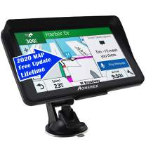 Car GPS,(7Inch) with 2020 North America Edition+Free Lifetime Updates, GPS Navigation for Car Truck Motorhome, Features Postcodes, Lane Guidance & POI