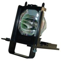 AuraBeam Economy 915B455011 for Mitsubishi TV WD-73840 Replacement Lamp with Housing