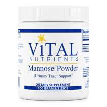 Vital Nutrients - Mannose Powder - Urinary Tract Support - 100 Grams per Bottle