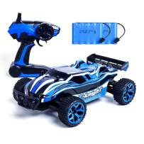 Remote Control Cars, RC Car High Speed Racing Cars, 4WD 1/18 Scale 2.4Ghz Electric Off Road Drift Car with 2 Rechargeable Batteries, Best Christmas/Birthday Gift Toy for Kids Age 4~16