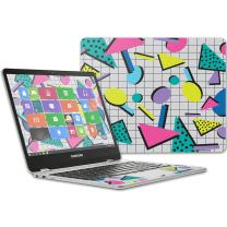 """MightySkins Skin Compatible with Samsung Chromebook Plus 12.3""""(2017 - Awesome 80s 