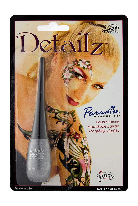 Mehron Makeup Detailz Face & Body Paint (.17 oz) (Silver)
