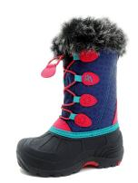 ICEFACE Kids Winter Snow Boots Waterproof and Insulated for Girls and Boys