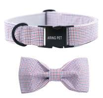 ARING PET Dog Collar Bowtie Dog Collar with Bow, Adjustable Collars for Dogs Small Medium Large