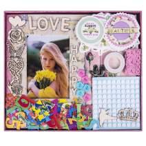 "FaCraft Love Scrapbook Kit for Girls (8x8"",Pink)"