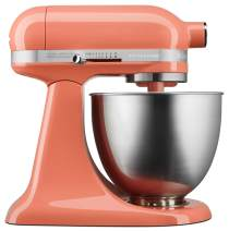 KitchenAid KSM3311XPH Artisan Mini Design Series 3.5 Quart Tilt-Head Stand Mixer, Bird of Paradise