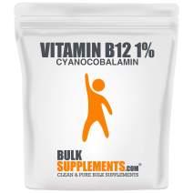 BulkSupplements Vitamin B12 1% (Cyanocobalamin) Powder (1 Kilogram)