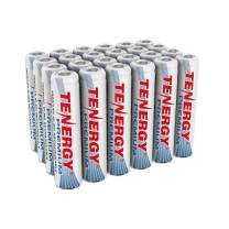 Tenergy Premium Rechargeable AAA Batteries, High Capacity 1000mAh NiMH AAA Batteries, AAA Cell Battery, 24-Pack