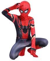 RONGANDHE Kids Superhero Bodysuit Halloween Cosplay Costumes Zentai Tights