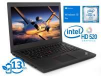 "Lenovo ThinkPad X270 Laptop, 12.5"" HD Display, Intel Core i5-6300U Upto 3.0GHz, 8GB RAM, 128GB SSD, HDMI, Card Reader, Wi-Fi, Bluetooth, Windows 10 Pro"