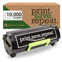 Print.Save.Repeat. Lexmark 601H High Yield Remanufactured Toner Cartridge for MX310, MX410, MX510, MX511, MX610, MX611 [10,000 Pages]