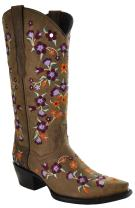 Soto Boots Floral Fantasy Cowgirl Fashion Boots M50031