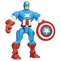 Marvel Super Hero Mashers Captain America Figure 6 inches
