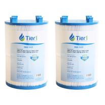 Tier1 Replacement for Dimension One 1561-00, Pleatco PDO75-2000, Filbur FC-3059, Unicel C-7367 Spa Filter Cartridge for Dimension One Spas 2 Pack
