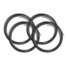 4LIFETIMELINES PVF-Coated Steel Brake, Fuel, Transmission Line Tubing, 4 Coils, 3/16 x 25 ft