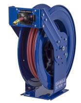 "Coxreels Truck Series Maximum-Duty Air Hose Reel, 300 PSI, Model# TSH-N-375, 3/8"" Hose ID, 75' Length"