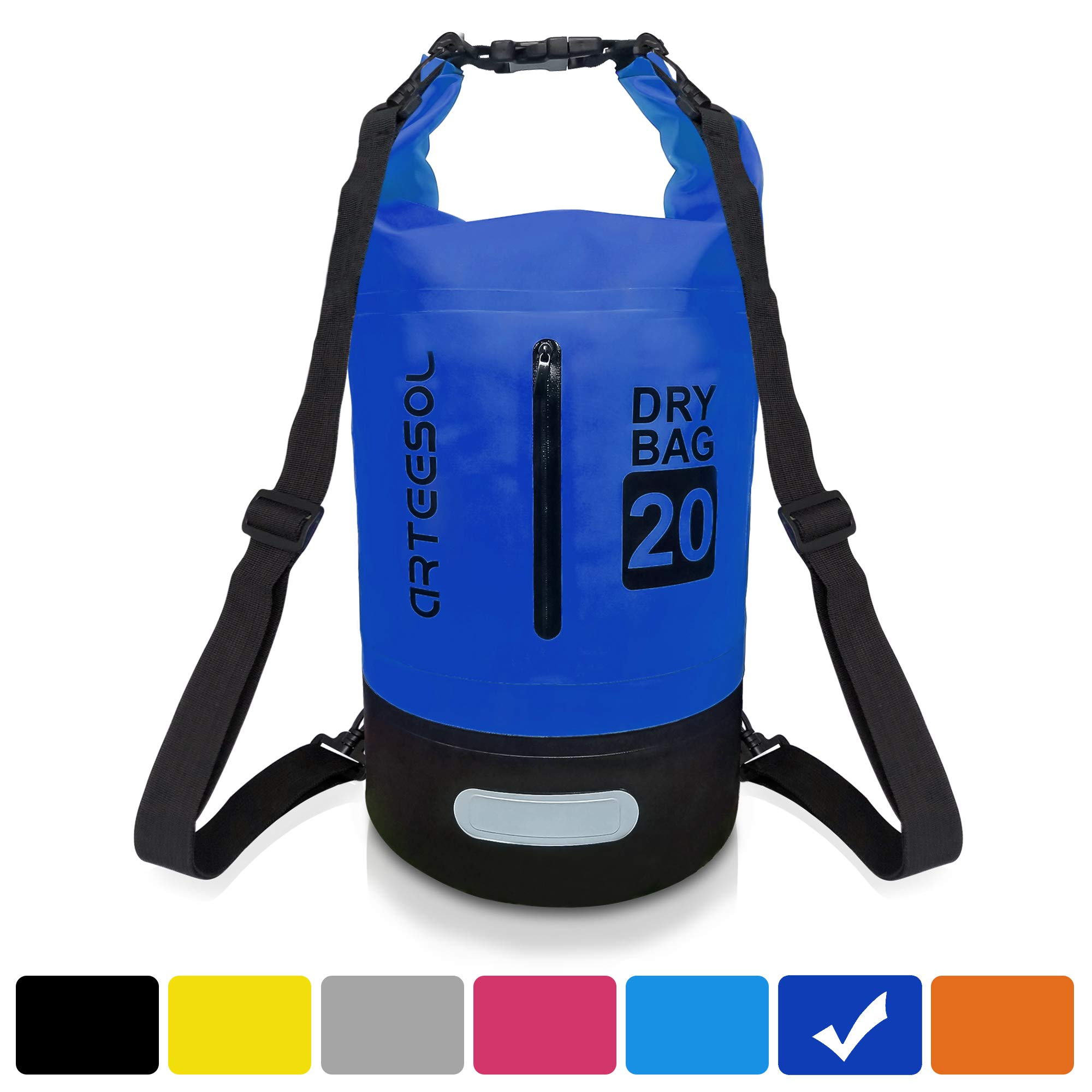 100/% Waterproof dry bag messenger bag rucksack straps 30 L Cyclists love these!