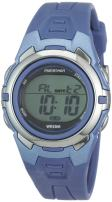 Marathon by Timex Unisex T5K362 Digital Mid-Size Blue Resin Strap Watch
